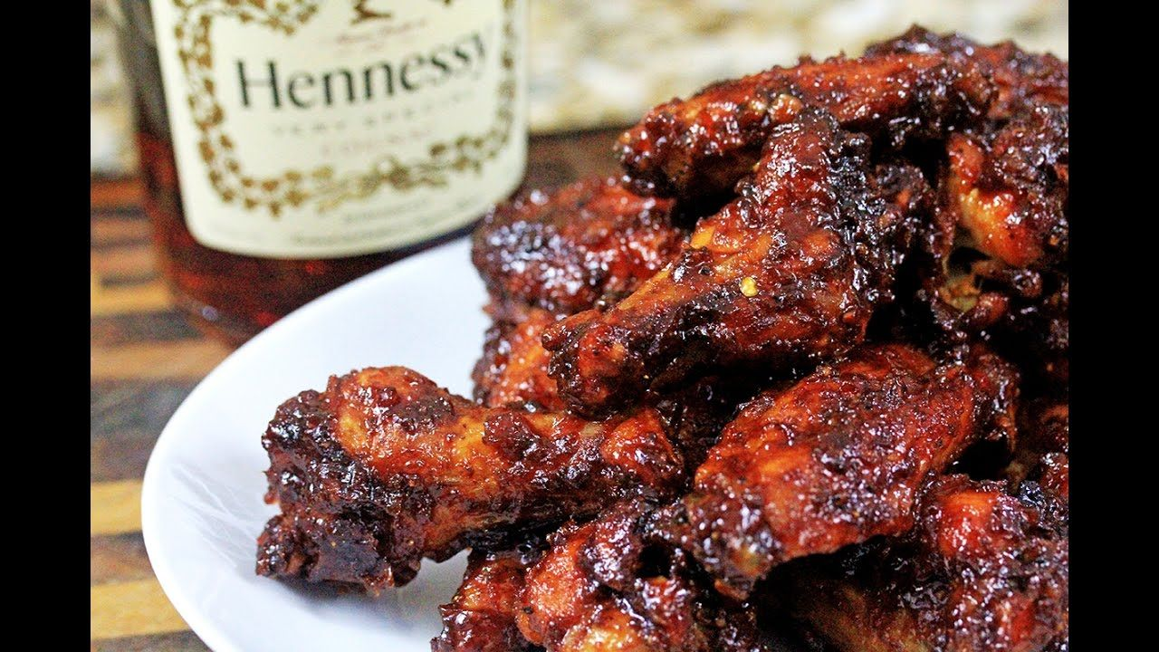 Orange Henny Bbq Wings How To Make Henny Bbq Sauce Bbq Wings Recipes Food