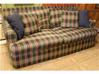 Green Blue Plaid Hickory Hill Sofa
