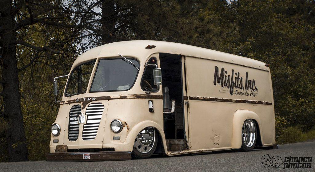 Radracerblog International Harvester Metro Van Hot Rods Cars Muscle Vintage Vans Step Van
