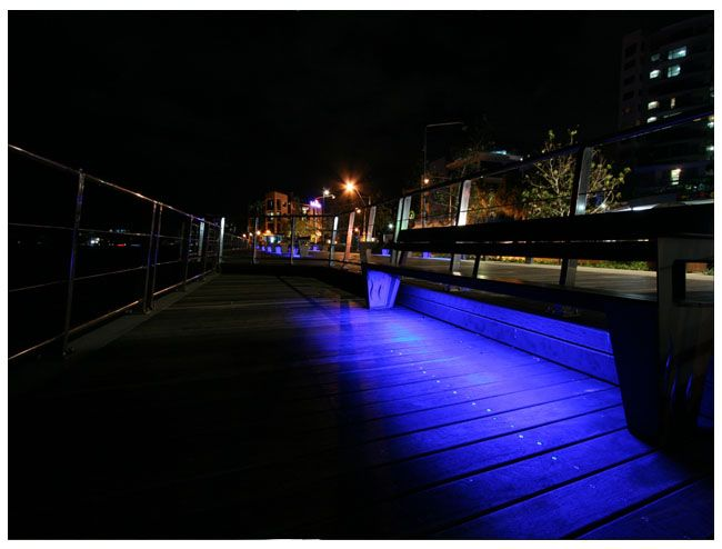 Outdoor Leds Lights Outdoor led lighting in a park led mood lighting making outdoor outdoor and patio led strip light examples weather resistant leds workwithnaturefo