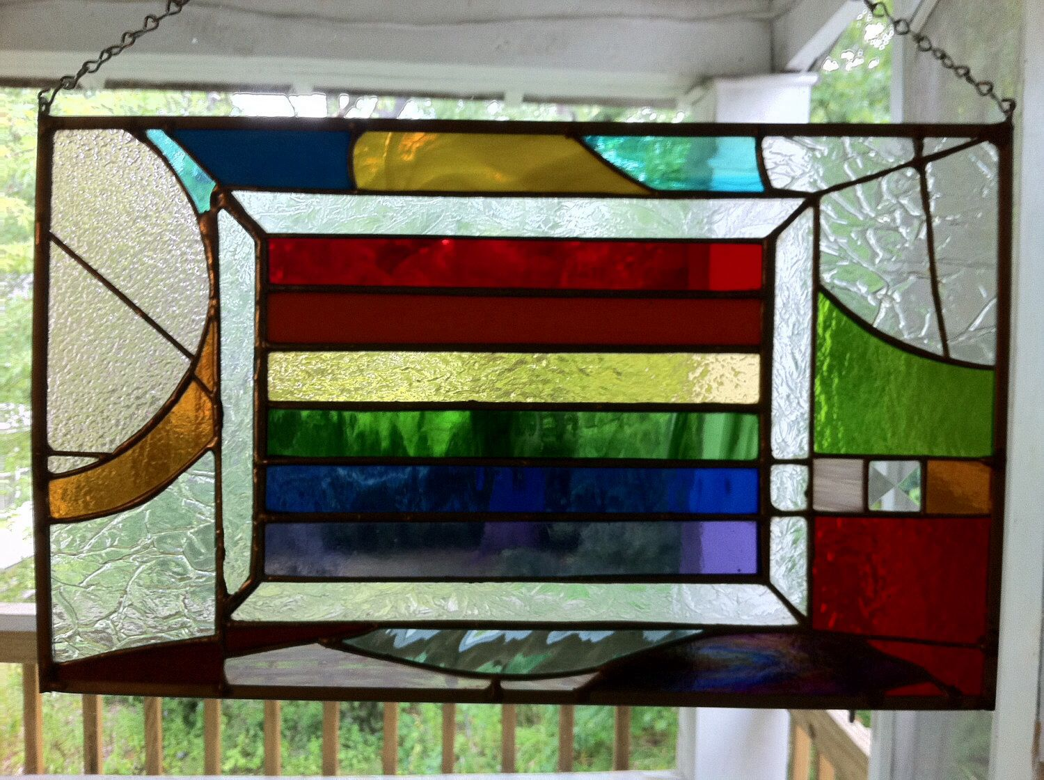 stained glass abstract tiles - photo #39