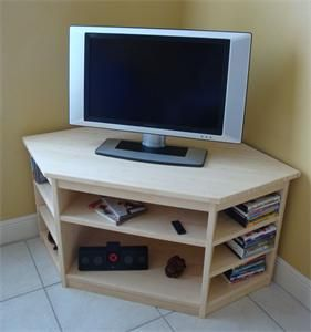 Renewable Bamboo Furniture Mission Corner Tv Stand