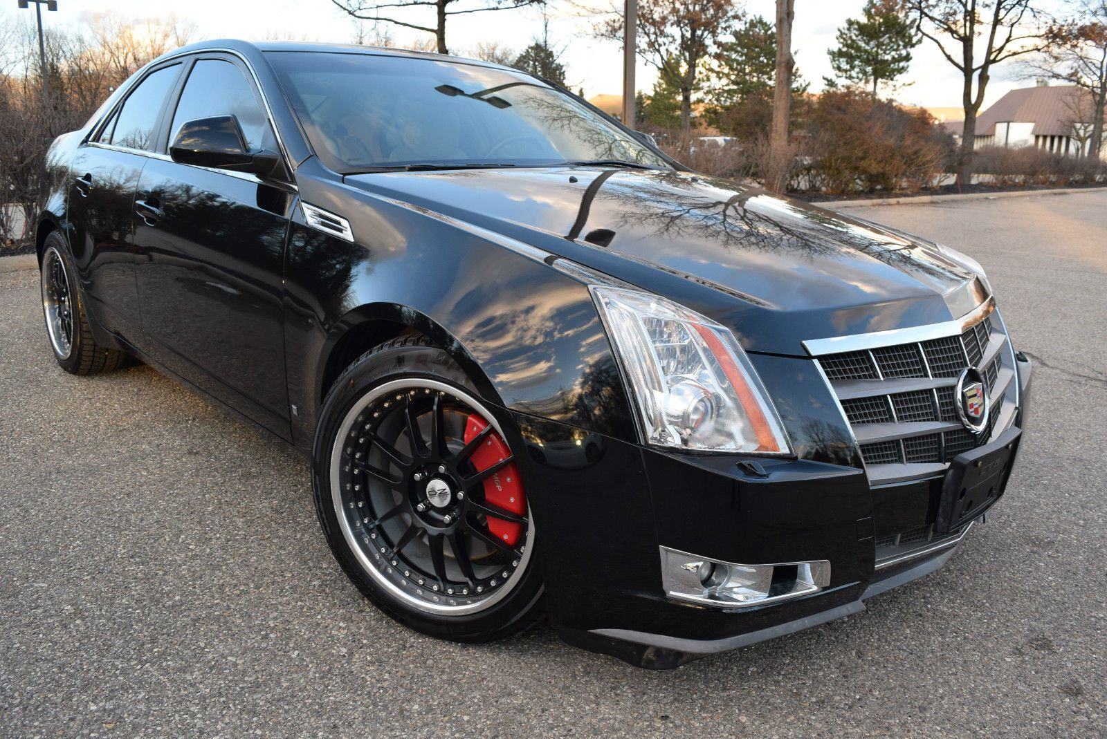 2008 Cadillac Cts Awd High Feature Edition Top Of The Line 4 Door