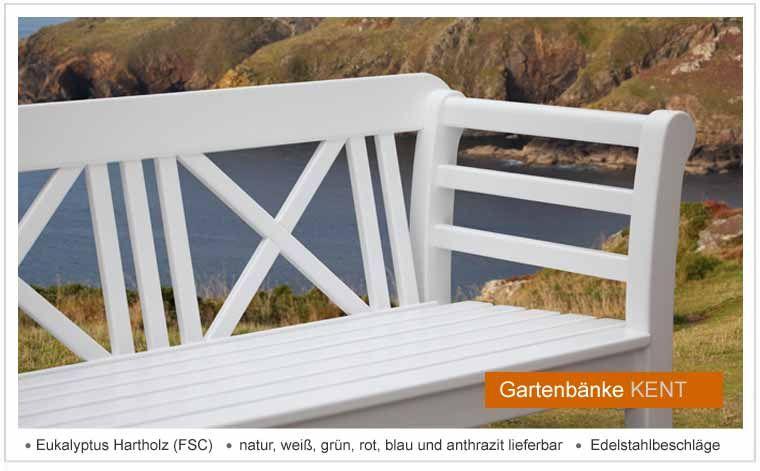 Gartenbanke Kent Von Peters Peters Fsc Hartholz Lackiert Natur Gartenbanke Gartenbank Holz