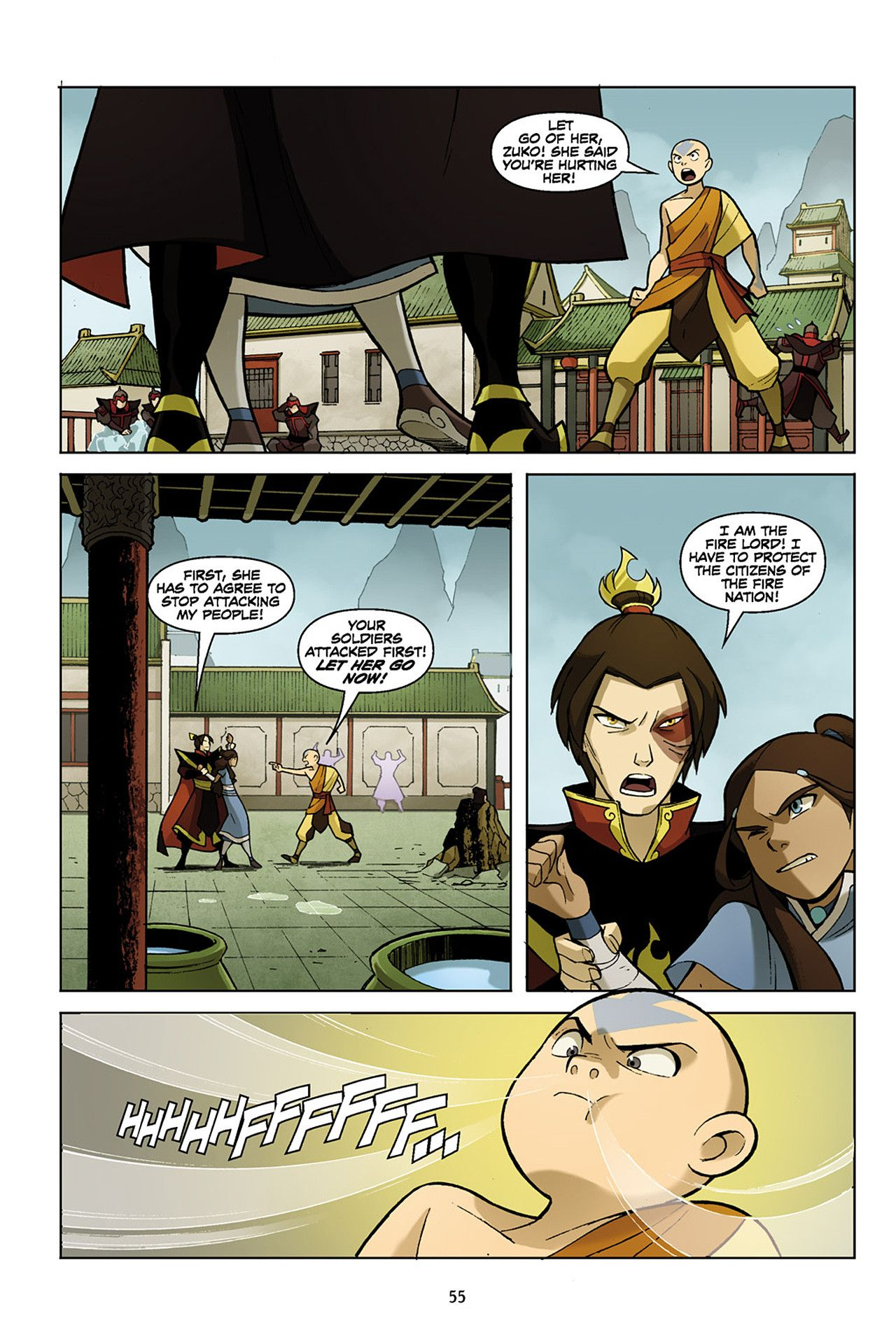Avatar The Last Airbender The Promise Part 1 Pg 55 Avatar The Last Airbender The Last Airbender Avatar Airbender