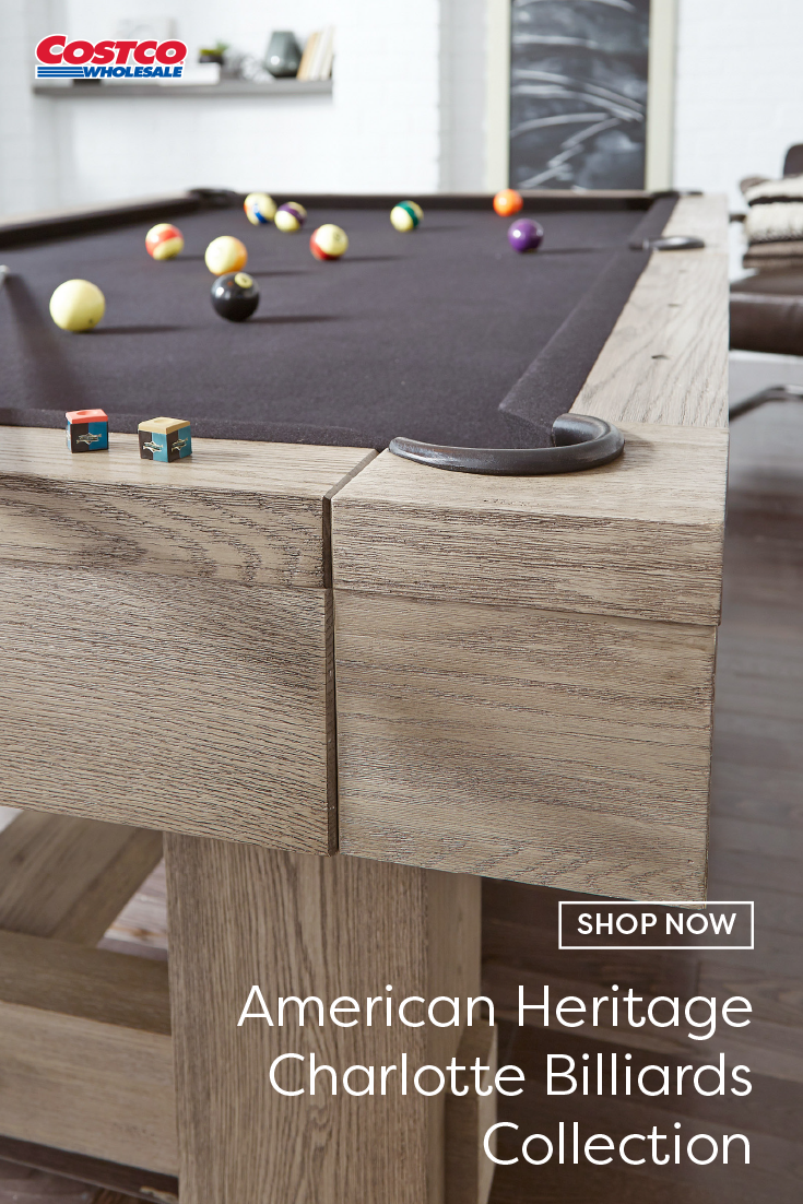 Decorate Your Game Room With A Versatile Piece This 8 Billiard Table Also Converts Into Table Tennis Th In 2020 Billiards Rustic Kitchen Design Basement Bar Designs