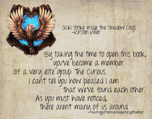 Harry Potter House Quotes: Ravenclaw House Quotes