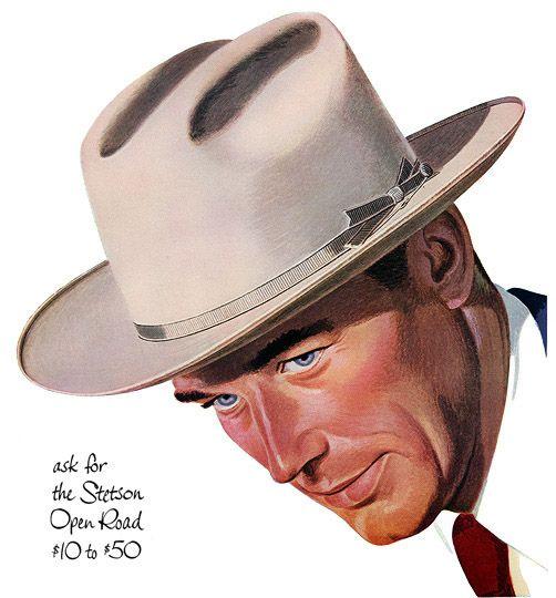 Plan59    Vintage Ads    Mid-Century Modern    Stetson Hats 319b96f539e