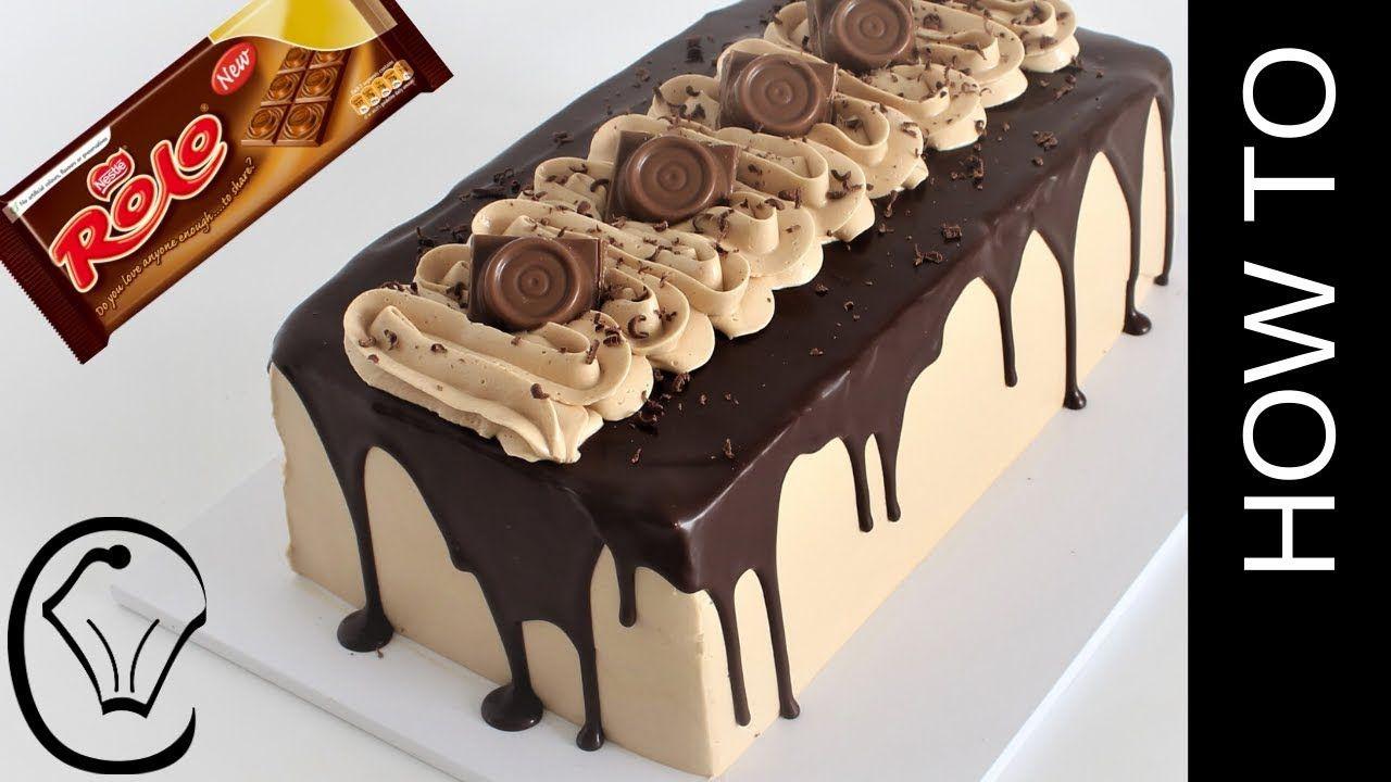 Rolo Condensed Milk Buttercream Chocolate Cake Chocolate Drip Vanilla Pudding Filling Youtube Chocolate Drip Chocolate Buttercream Cake Chocolate Cake