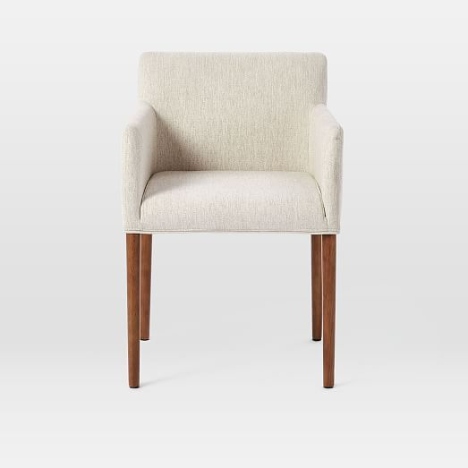 Ellis Upholstered Dining Armchair In 2020 West Elm Dining Chairs