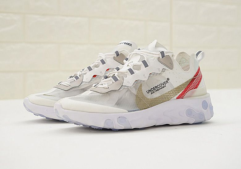 new product 6712e a173d Undercover Jun Takahashi Nike React Element 87 Photos   SneakerNews.com