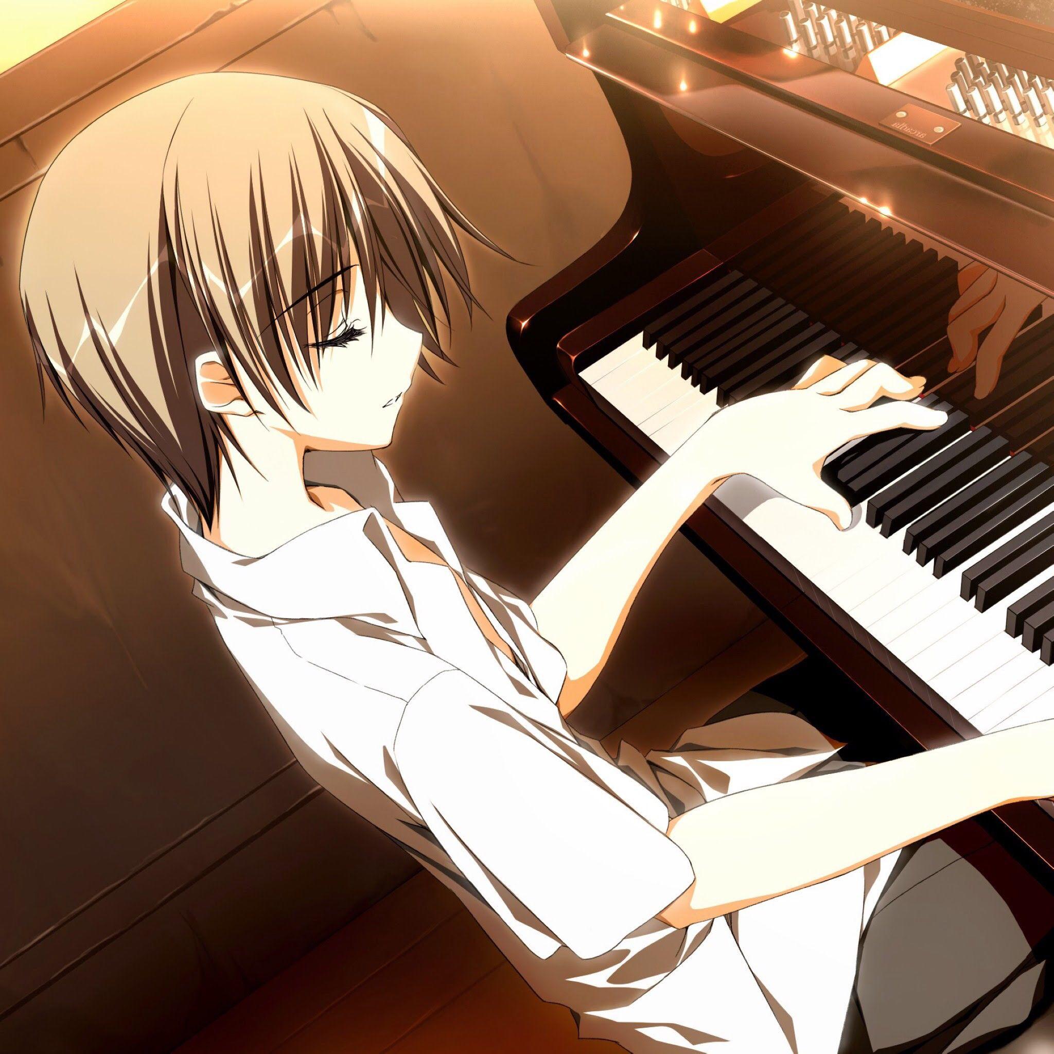 Hot Anime Guy Playing Piano Piano Anime Anime Music Top 5 Anime