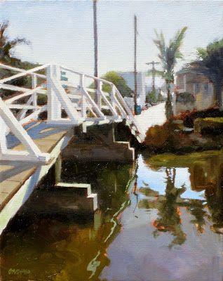 DAN GRAZIANO FINE ART: bridge on the canal