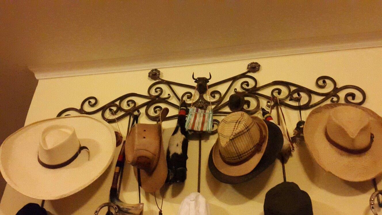 Porta sombreros a mano en pinterest jpg 1328x747 Porta sombreros 2f45c721194