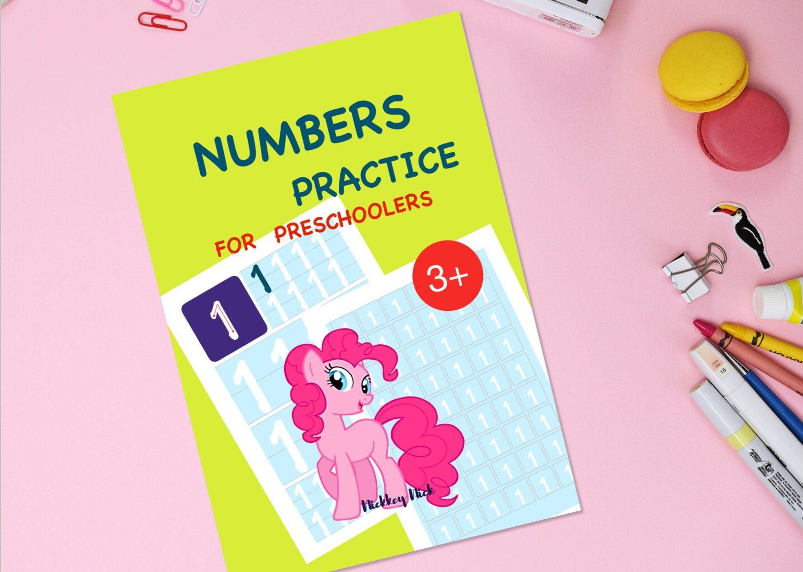 Numbers Practice Worksheets For Preschoolers And Kids