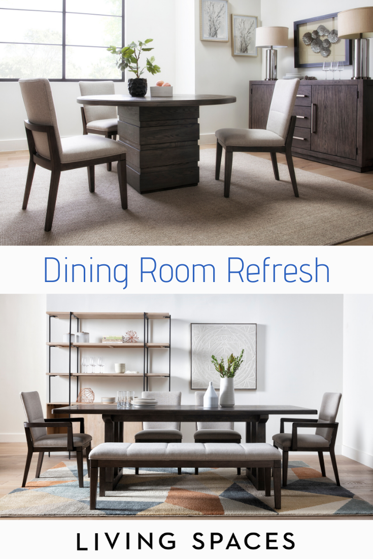 Modern Dining Room Ideas To Upgrade Your Dining Space Dining Tables Chairs And Sets With Clean Dining Room Sets Dining Room Decor Mediterranean Living Rooms