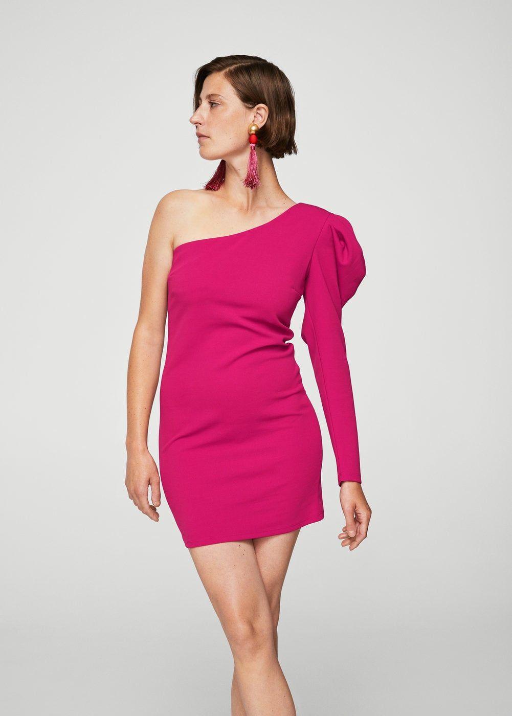 e389e38d009c Puffed sleeves dress - Woman | Dress in 2019 | Dresses, Dress ...