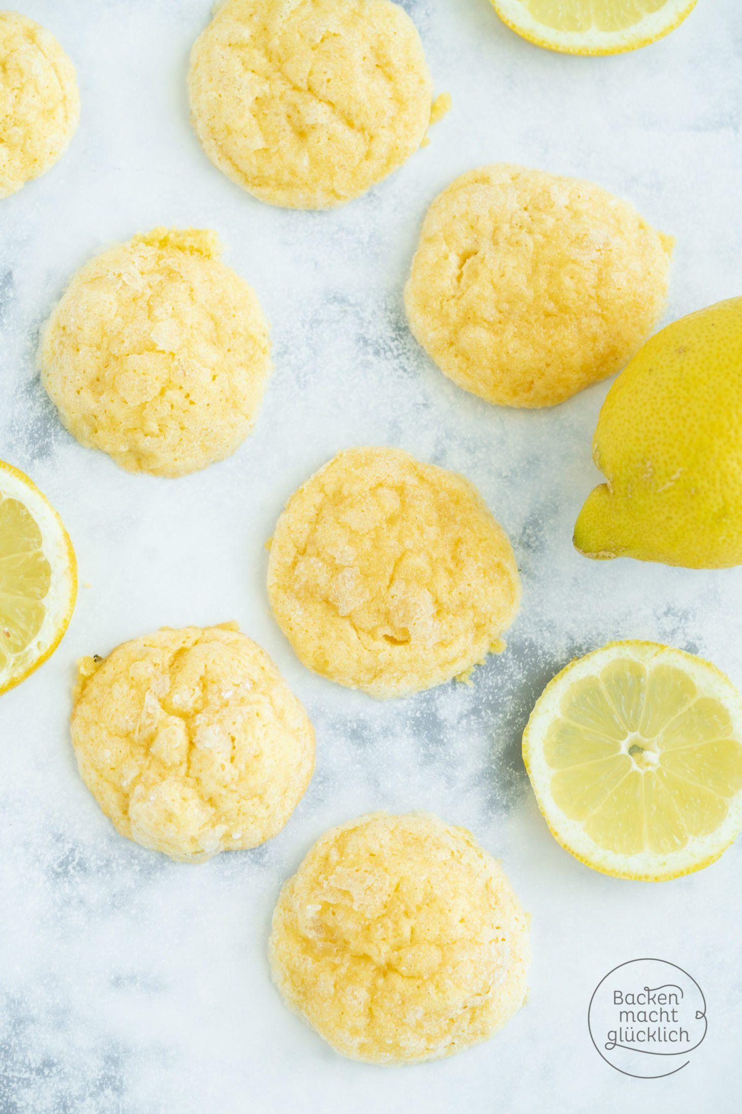 Juicy Lemon Cookies (Lemon Cookies) Baking makes you happy -  Wonderful summer lemon cookies! The l