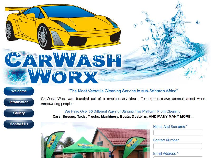 CARWASH WORX, Clean Cars For Cash, start your own successful Mobile ...