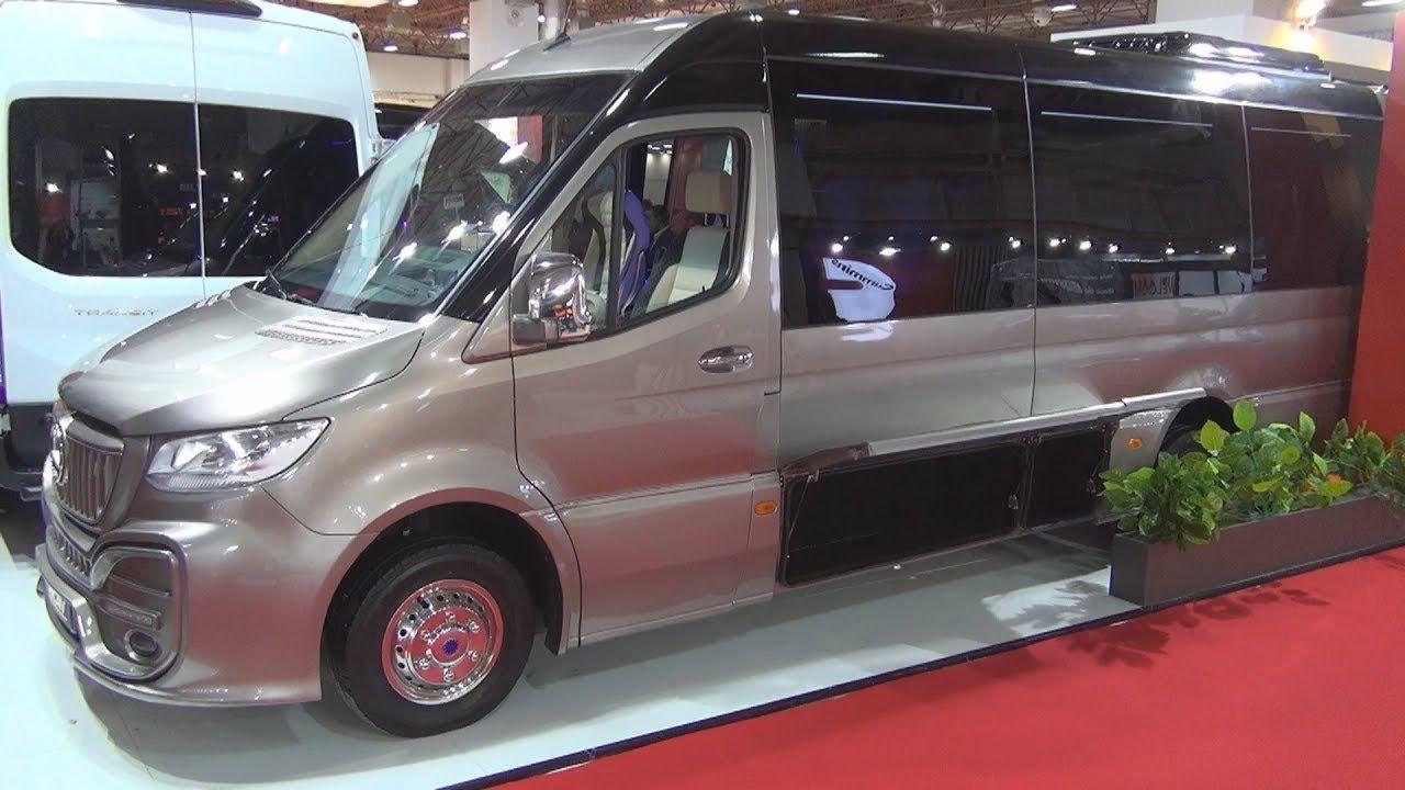 Mercedes Benz Sprinter Cancan Oto Bus 2020 Exterior And Interior