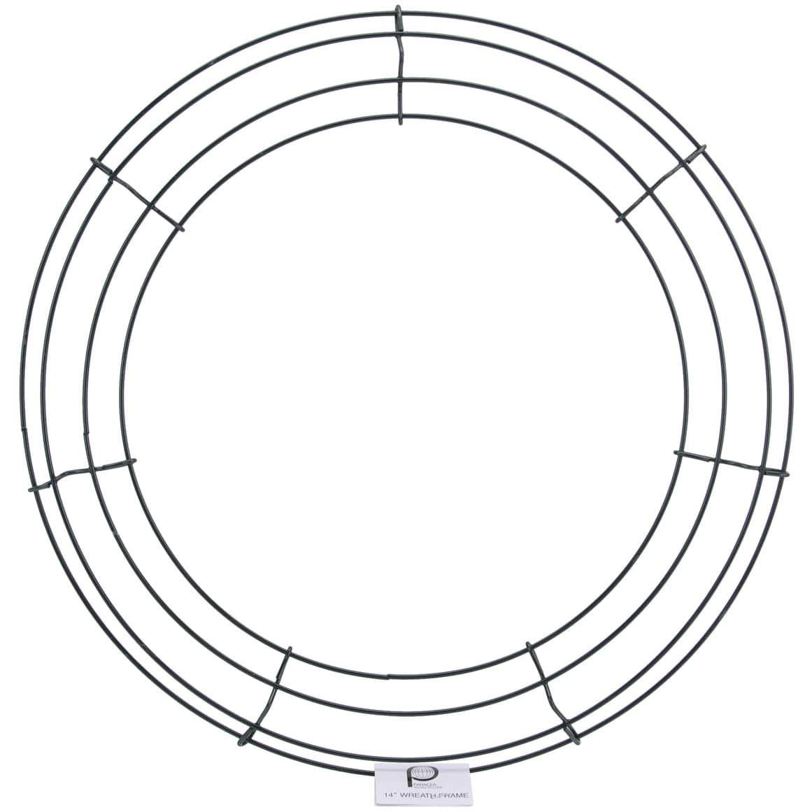 Panacea wire wreath frame 14 14\