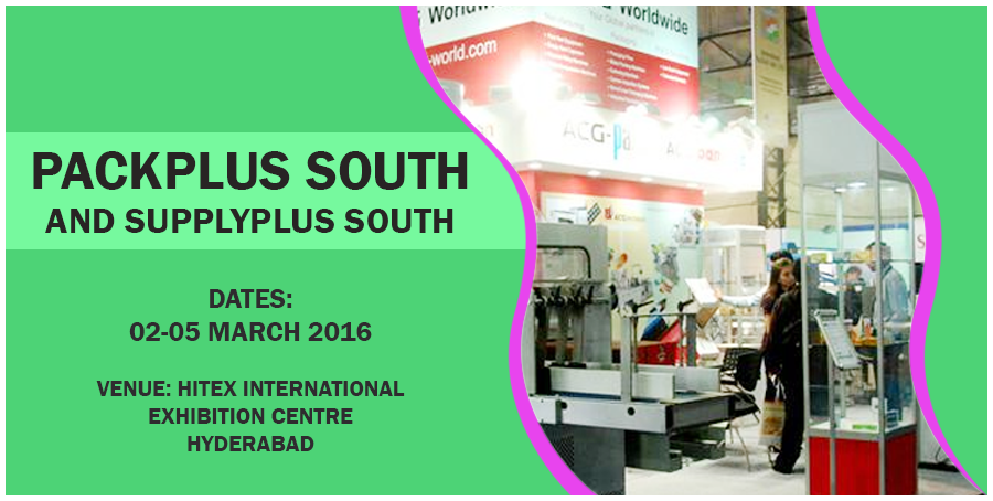 PackPlus South 2016 Hyderabad provides a onestop shop