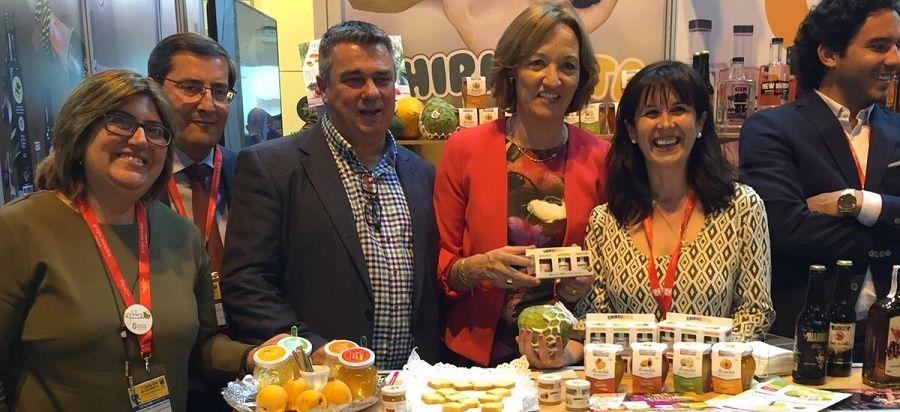 MADRID. La empresa Agroindustrias Tropicales ha valorado comomuy positiva su presencia en Madrid junto a 22 empresas bajo la marca 'Sabor Granada'.