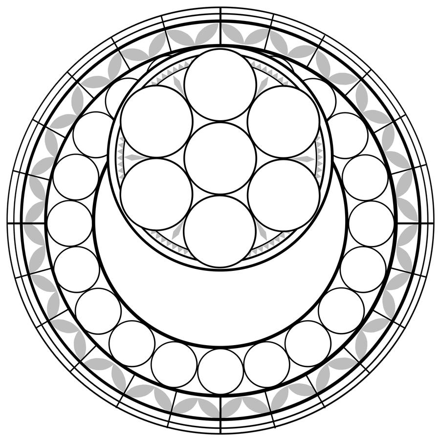KH Stained Glass Template by AkyraKanton | .... um.... | Pinterest