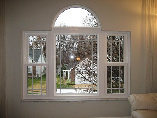 Replacement windows with grids in St. Louis - Double Hung Windows