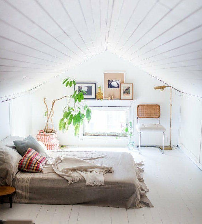 ▷1001+ idées déco de chambre sous pente cocoon | Chambre à coucher ...