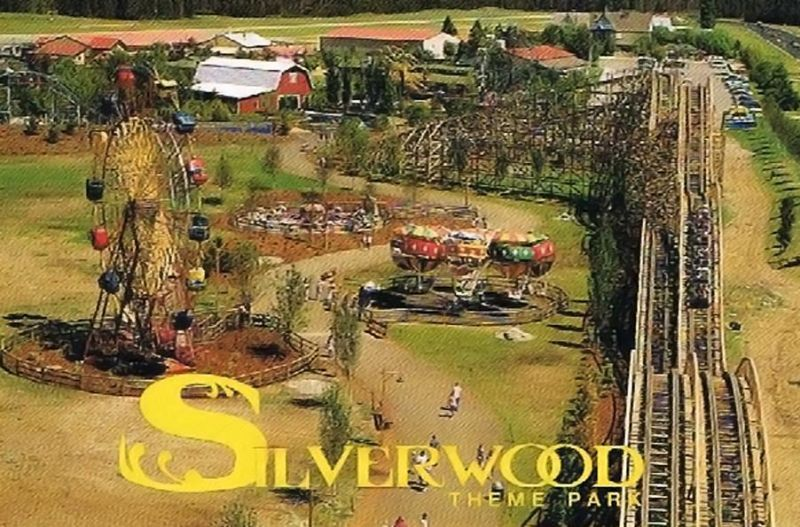Silverwood Theme Park  Athol, Idaho- This pic is from late 90's.  The park looks VERY different now!