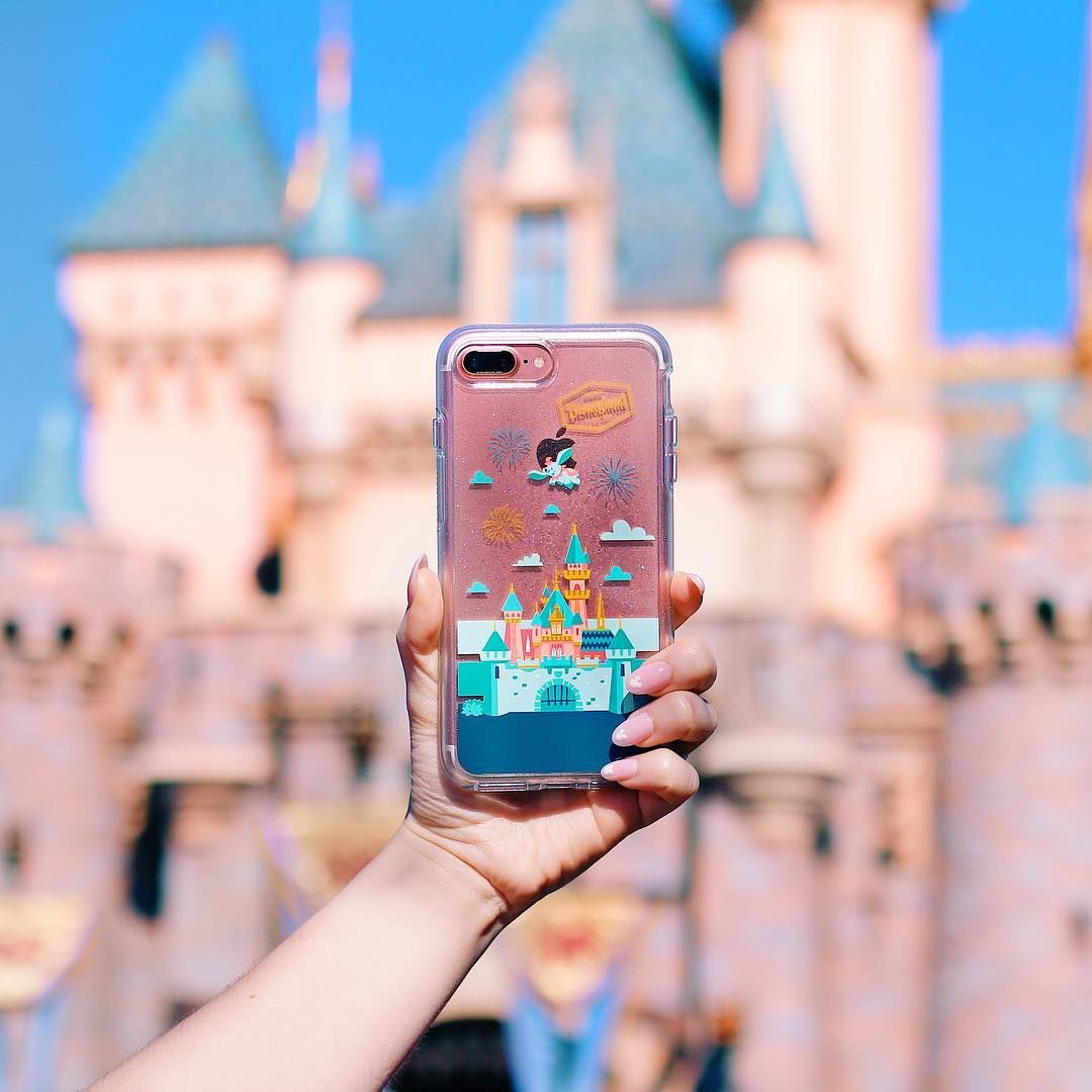 Otterbox Disney Castle Case Caseswithcharacter Styledbymagic Disney Phone Cases Iphone Cases Disney Disney Themed Outfits