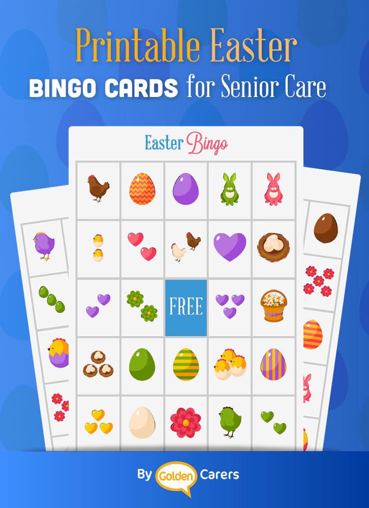 Easter Bingo for Senior Care in 2020 Easter bingo