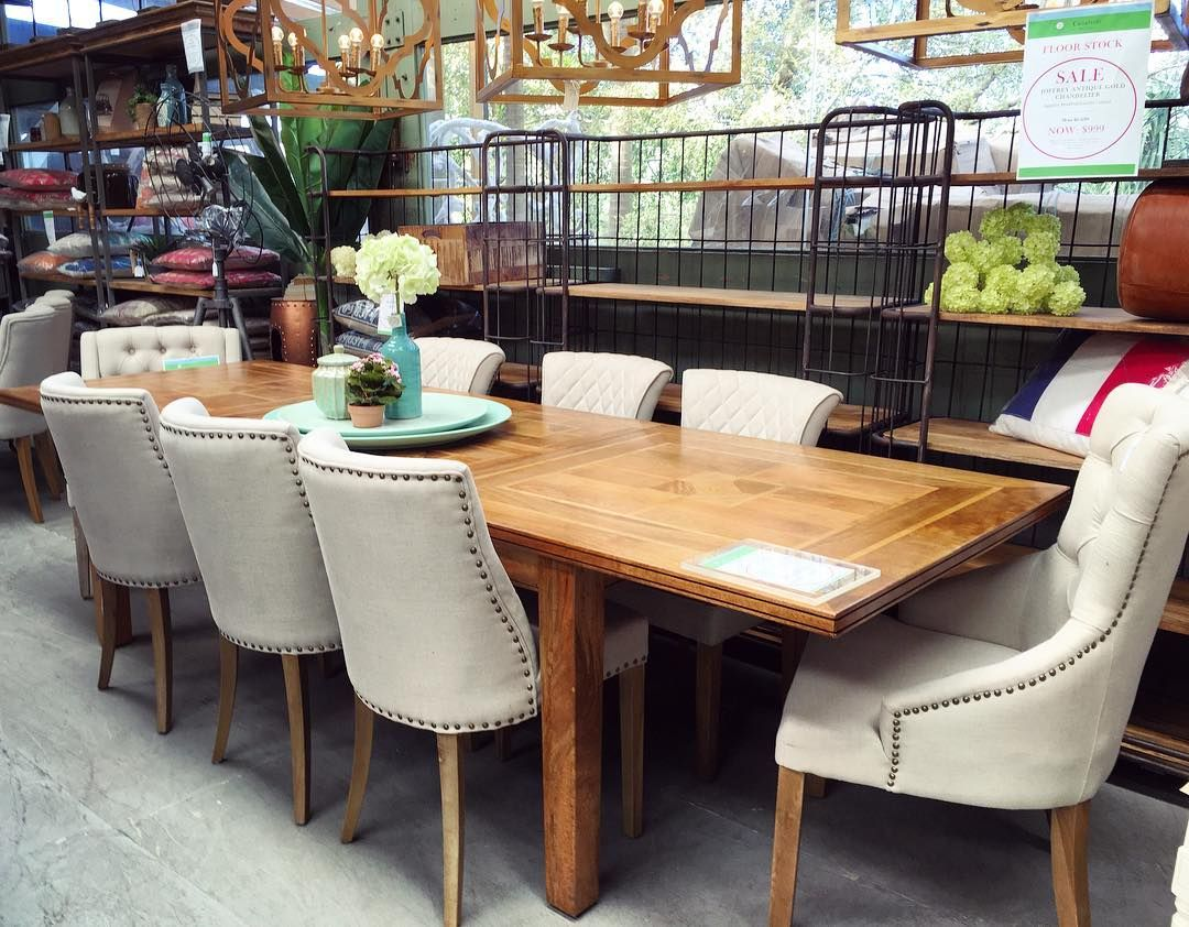 Extension Table Canalside Interiors Elegant Florence Double