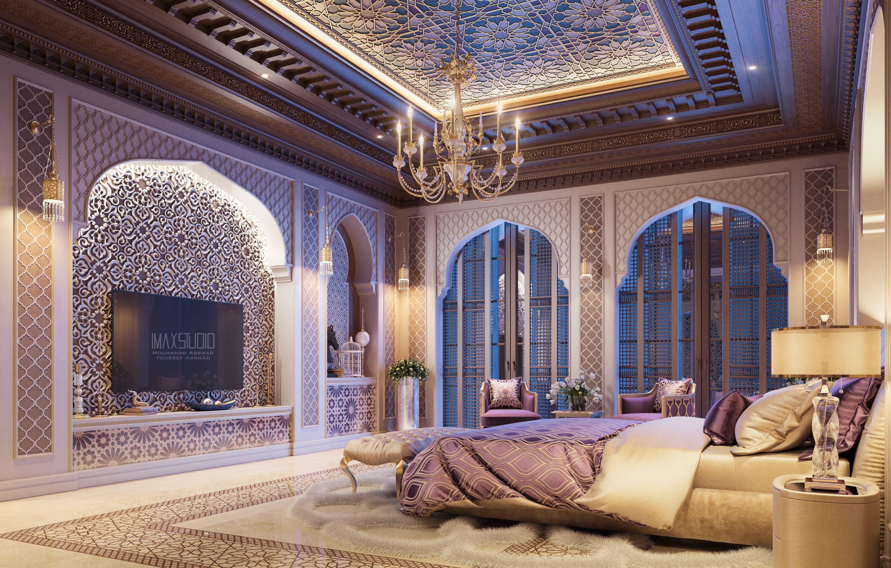 Luxury Master Bedroom (With images)   Luxury bedroom ...