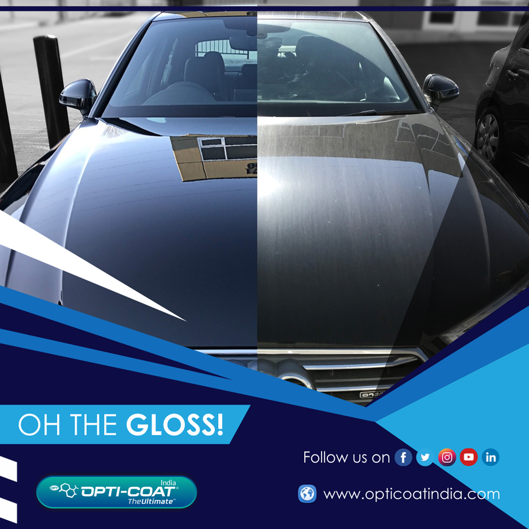 Oh The Gloss In 2020 Car Coating Car Care Optima Car