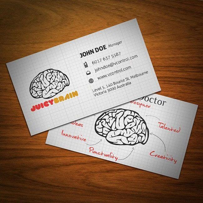 creatividads 75 ejemplos de tarjetas de visita creativas Diseño - tarjetas creativas