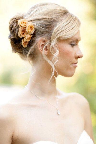 20 Peinados Impresionantes De Novia Para Pelo Corto Peinados Boda Pelo Corto Estilos De Pelo Media Melena Peinados Updo Para Bodas