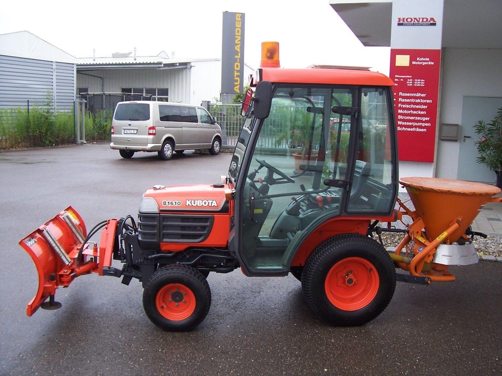 Gut Erhalten Kubota Diesel Traktor B 1610 Mit Kabine Kubota Dieseltraktor B 1610mit Kabine Gebrauchtgerat 3 Zylinder Di Dieselmotor Schaltgetriebe Getriebe
