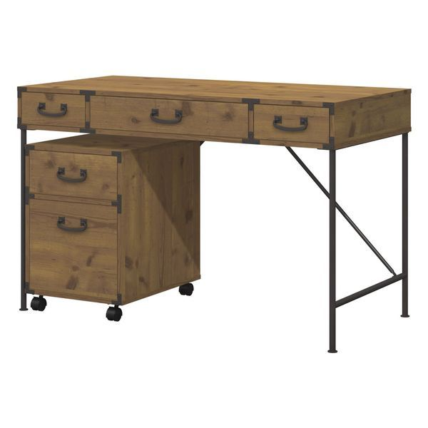 $350 kathy ireland Office by Bush Furniture Ironworks 48-inch Wide