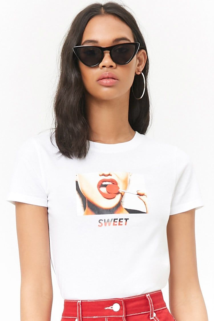e7e0e1e84 Lollipop Graphic Tee | Forever 21 | Inspired by fashion | Forever 21 ...