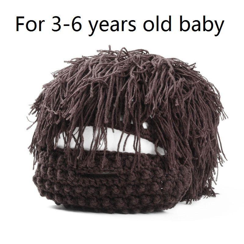 knit beard hat cap big-hair beaine ski face mask balaclava winter hats for men,bonnet homme,mutsen mannen,gorro chapeu cappello