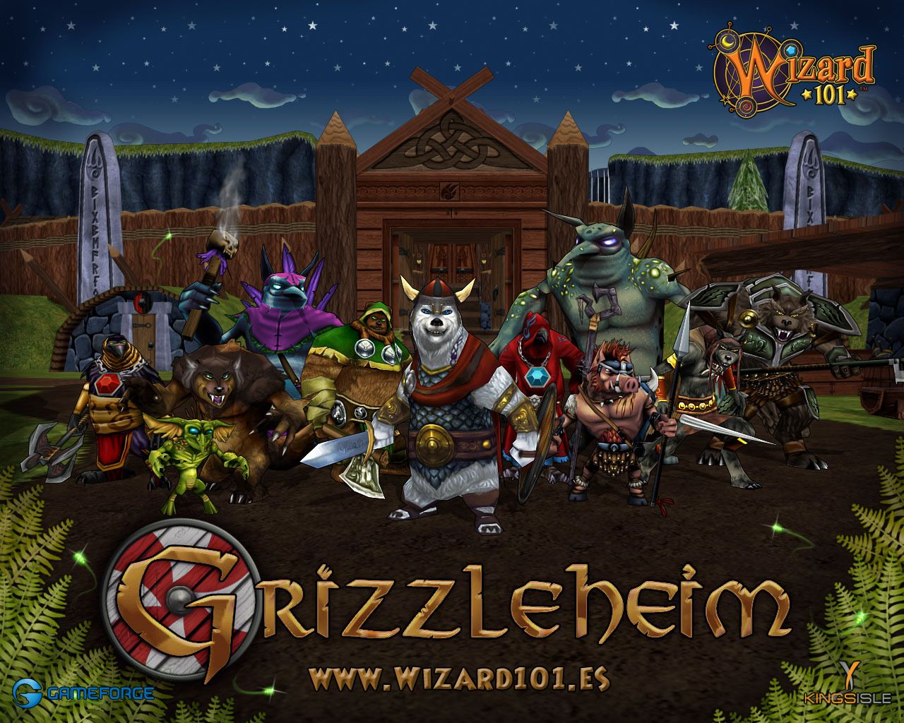 Wizard101 - Grizzleheim Brings alive the Norse/Teutonic Myths, right