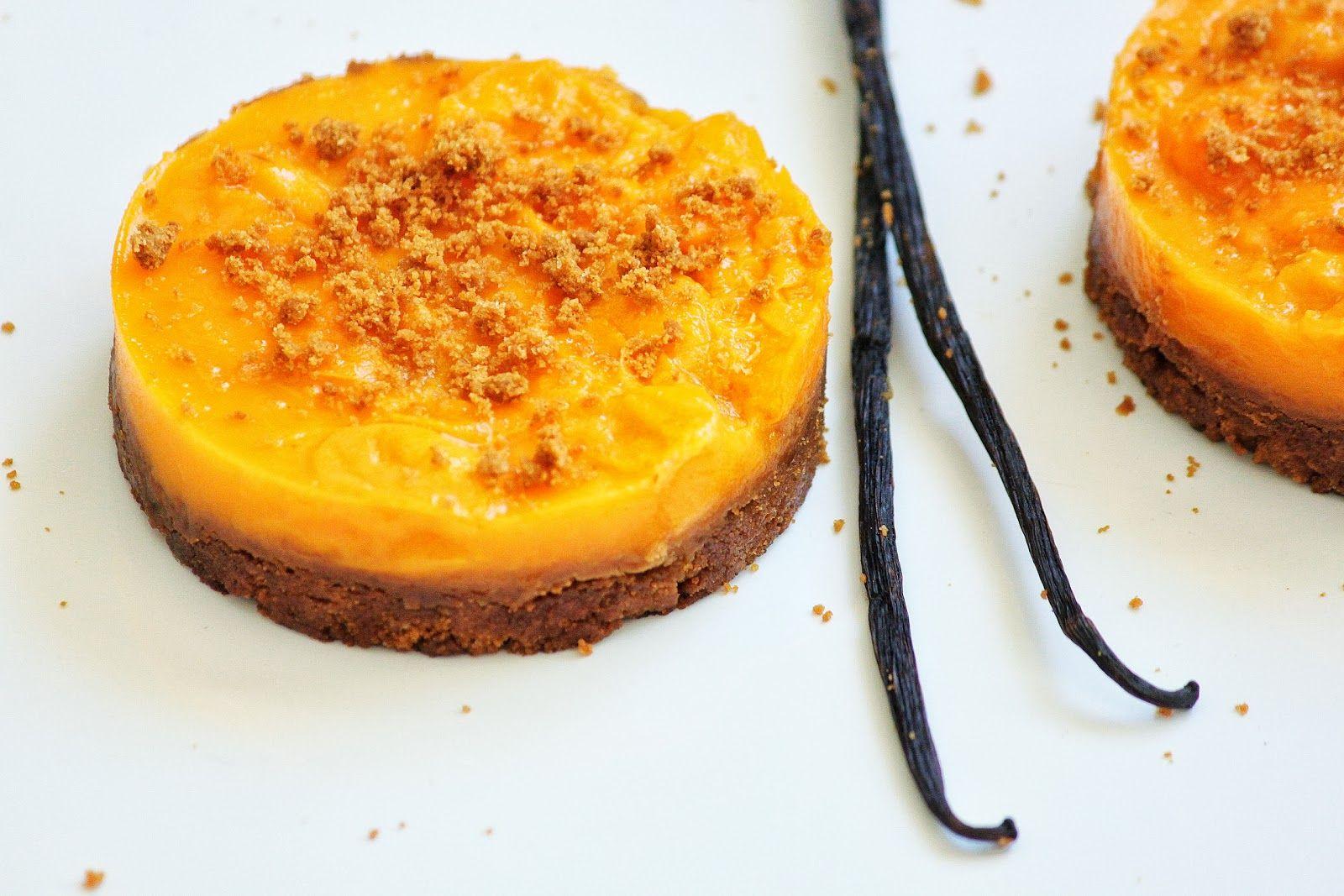 Sof vous invite ...: Tartelettes de spéculos aux abricots