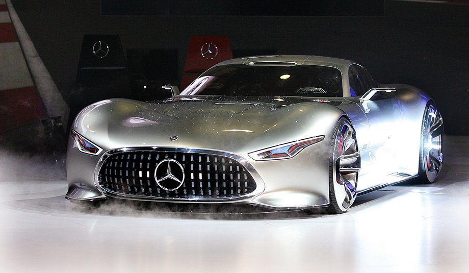 The MercedesBenz Vision Gran Turismo concept car at the