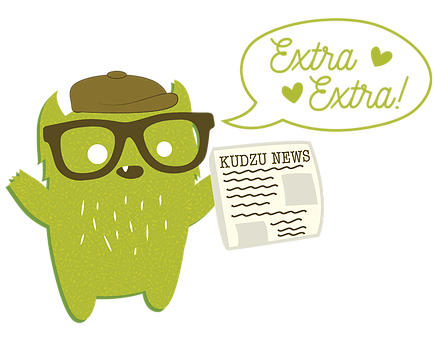Kudzu Monster Newsletter. subscribe for exclusive freebies
