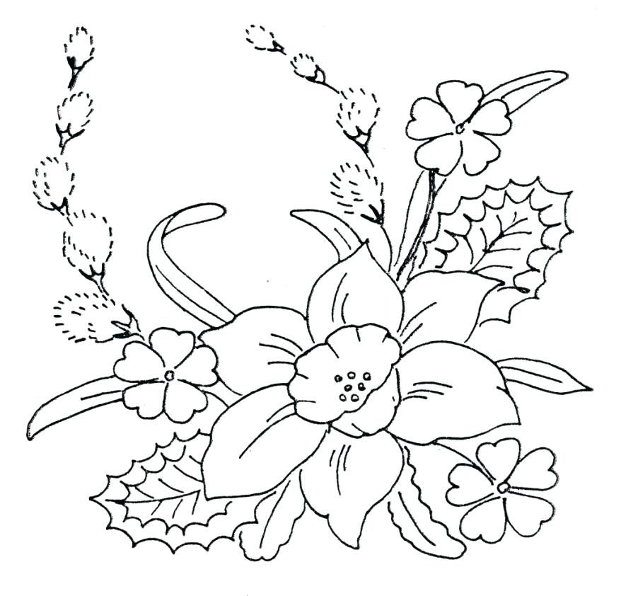 leaf stencils printable free flower template printable