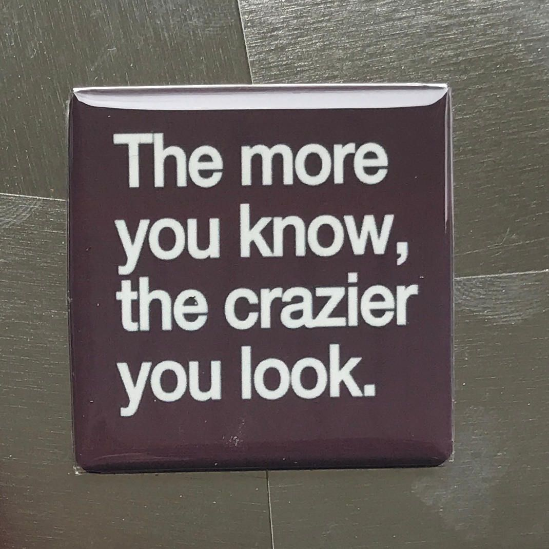 You know you/'re a mom when...Custom made 1.5 x 1.5  magnet