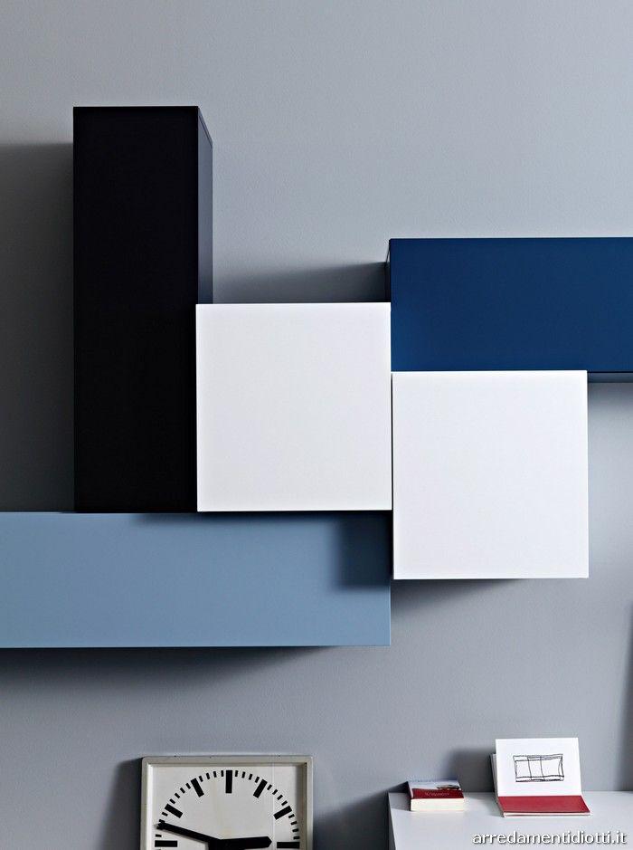 arredamenti diotti a&f - blog arredamento | pareti attrezzate ... - Soggiorno Bianco E Nero Ikea 2
