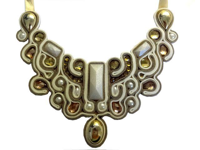 #soutache #sutasz #statementnecklace #necklace #necklace